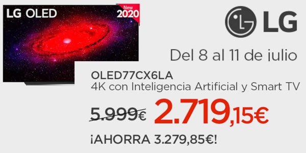 LG CX 77 al mejor precio