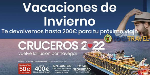 Logitravel promoción viajes invierno 2022
