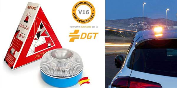 Luz magnética LED de emergencia Jupstar homologada (V16)