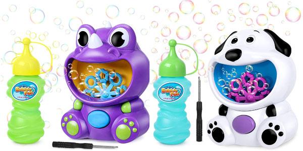 Máquina de burbujas joylink para niños barata en Amazon