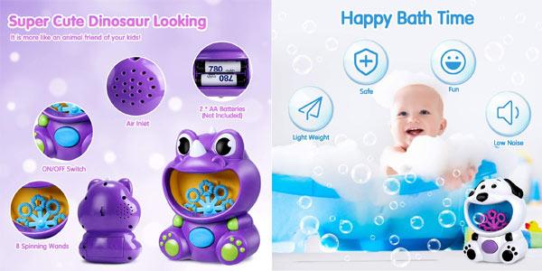 Máquina de burbujas joylink para niños chollo en Amazon