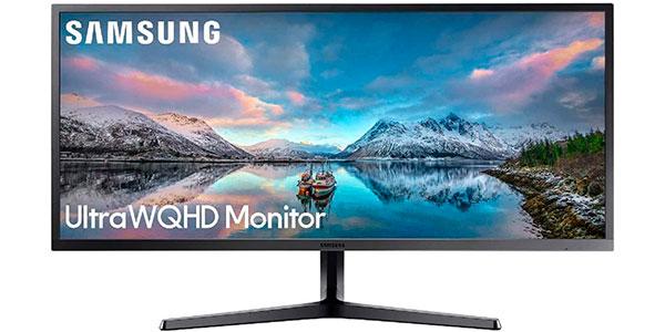 """Monitor Samsung LS34J552WQRXEN ultra panorámico QHD de 34"""" barato"""