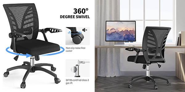 Noblewell silla oficina reposabrazos regulable oferta