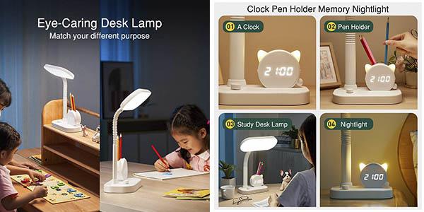 One Fire lámpara LED escritorio regulable descuento