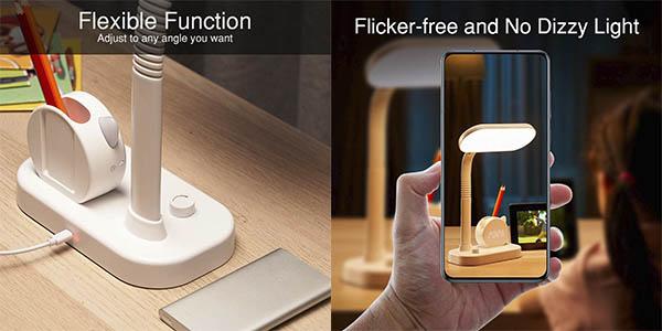 One Fire lámpara LED mesa regulable oferta