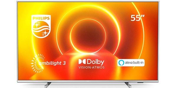 Smart TV Philips 55PUS7855/12 4K UHD barato en Amazon