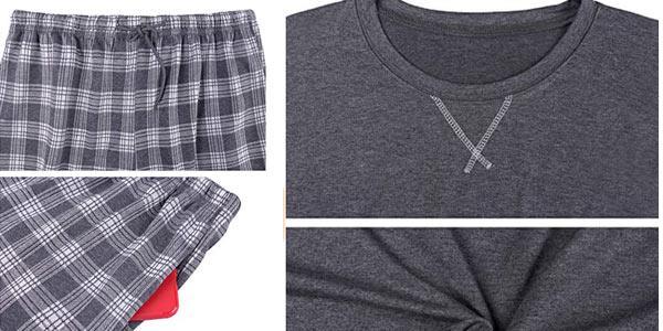 Pijama de verano Irevial 2 piezas para hombre chollo en Amazon