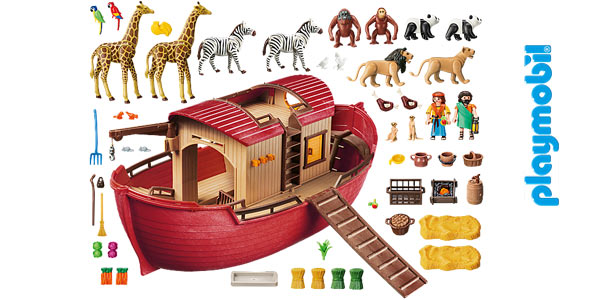 Playmobil Wild Life Arca de Noé (9373) oferta en Amazon
