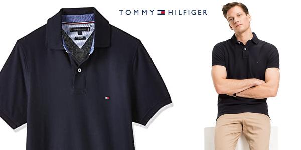 Polo Tommy Hilfiger Core Hilfiger Slim para hombre chollo en Amazon