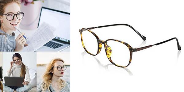 Porpee gafas protección luz azul chollo