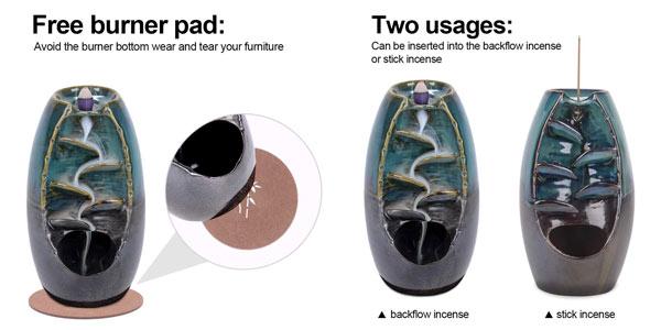 Quemador incienso cerámica en oferta