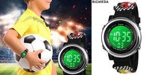 Reloj digital infantil Bigmeda barato en Amazon