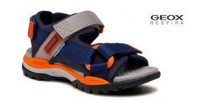 Sandalias planas Geox J Borealis Boy A para niños baratas en Amazon