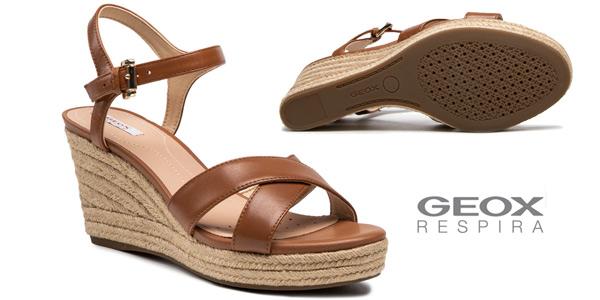 Sandalias de cuña Geox D Soleil A para mujer baratas en Amazon