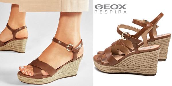 Sandalias de cuña Geox D Soleil A para mujer chollo en Amazon