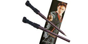 Set Boli-varita y marcapáginas Harry Potter The Noble Collection barato en Amazon