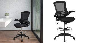 Silla de escritorio ergonómica Flash Furniture barata en Amazon