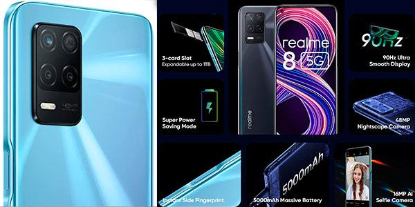 Realme 8 5G (4 GB + 64 GB) barato
