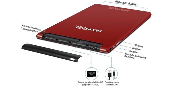 """Tablet Goodtel de 10"""" en Amazon"""