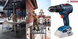 Taladro percutor Bosch 06019H5302 GSB de 18 V y 55 Nm barato en Amazon