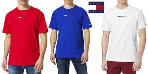 Tommy Jeans TJM Linear logo camiseta chollo