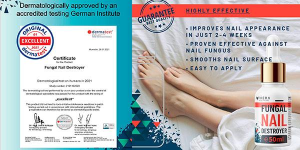 Tratamiento de hongos para las uñas Fungal Nail Destroyer de 50 ml barato