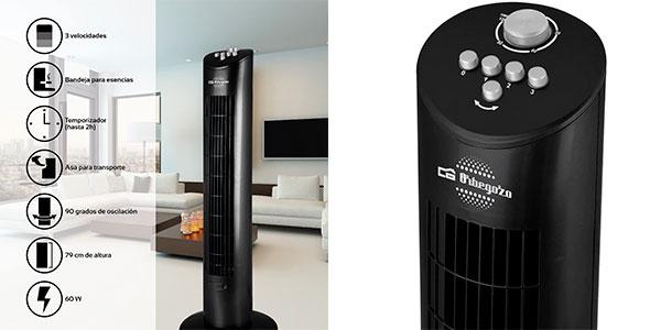Ventilador Orbegozo TW 0800 de 60 W barato