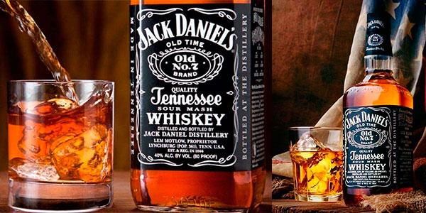 Whiskey Jack Daniel's Old No. 7 de 1.000 ml en caja metálica barato