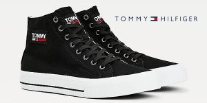 Zapatillas Tommy Jeans Mid Cut Long Lace Up Vulc para hombre baratas en Amazon