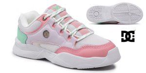 Zapatillas de deporte DC Shoes Decel para mujer baratas en Amazon