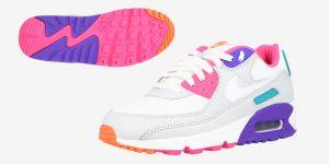 Zapatillas de deporte bajas Nike Air Max 90 para mujer baratas en Amazon