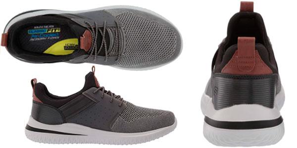 Zapatillas Skechers Delson 3.0-Cicada para hombre baratas