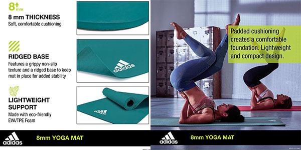 Estera de yoga Adidas de 8 mm barata