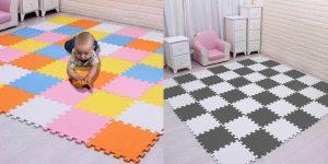 Alfombra puzle de espuma EVA para niños