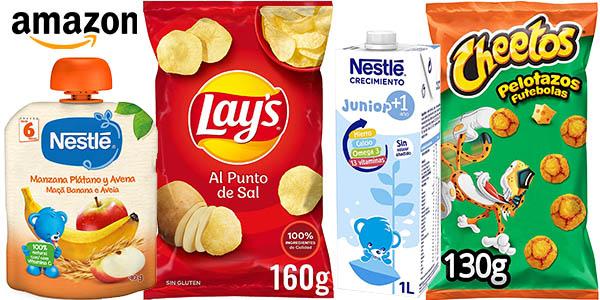 Promoción productos alimentación en Amazon