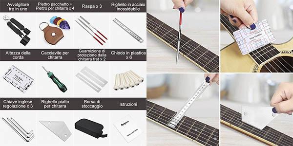 Anpro kit herramientas guitarra ukelele completo oferta