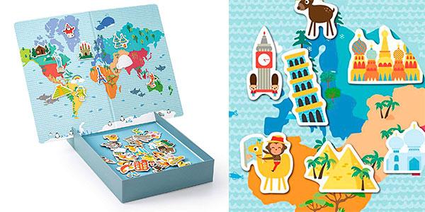 Mapamundi magnético infantil Apli Kids barato
