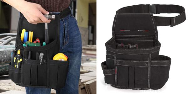 Cinturón de herramientas Baigio con bolsa de nailon ajustable barato en Amazon