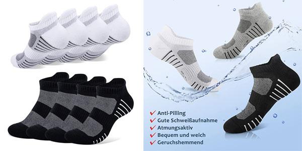 Calcetines cortos deportivos unisex Paunew baratos