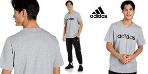 Camiseta de manga corta Adidas M Lin Sj T para hombre barata en Amazon