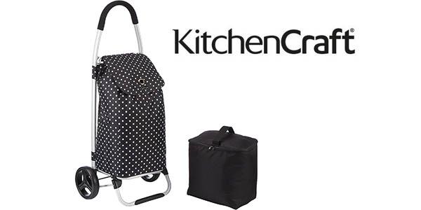 Carro de la compra plegable Kitchen Craft con bolsa fría extraíble
