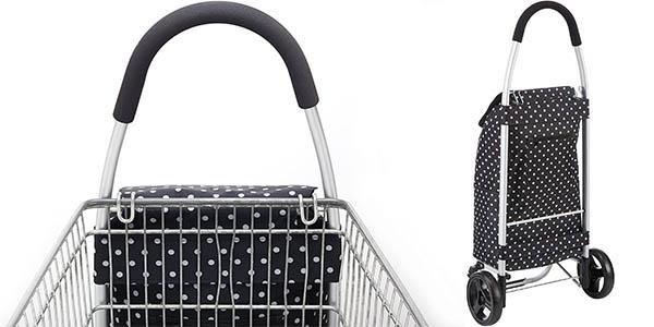 Carro de la compra plegable Kitchen Craft con bolsa fría extraíble barato