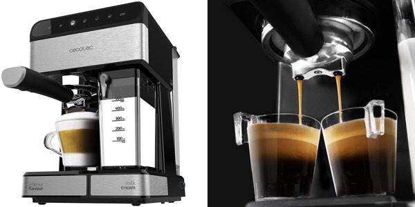 Chollo Cafetera semiautomática Cecotec Power Instant-ccino de 20 bares
