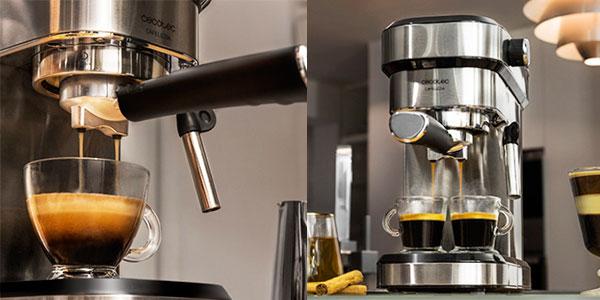 Chollo Cafetera espresso Cecotec Cumbia Cafelizzia 790 Steel de 1.350 W
