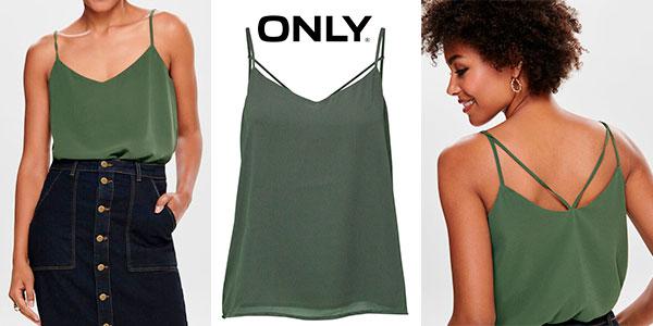 Chollo Camiseta de tirantes Only OnlMoon para mujer
