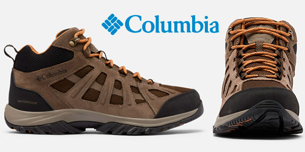 Chollo Botas de senderismo Columbia Redmond III impermeables para hombre