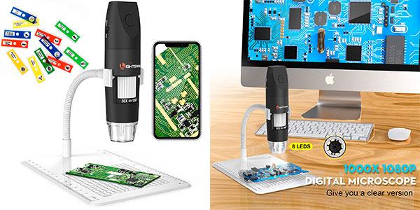 Chollo Microscopio digital inalámbrico Lightswim con Bluetooth