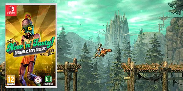 Chollo Oddworld: New 'n' Tasty para Switch