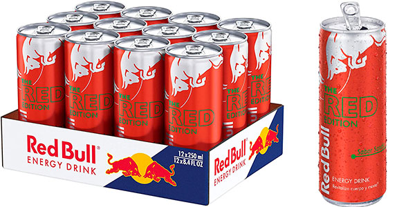 Chollo Pack x12 latas de Red Bull de sandía de 250 ml