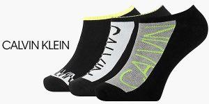 Chollo Pack Calvin Klein de 3 calcetines tobilleros para hombre